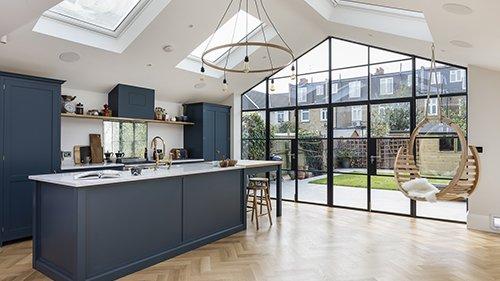 Kitchen extensions london proficiency