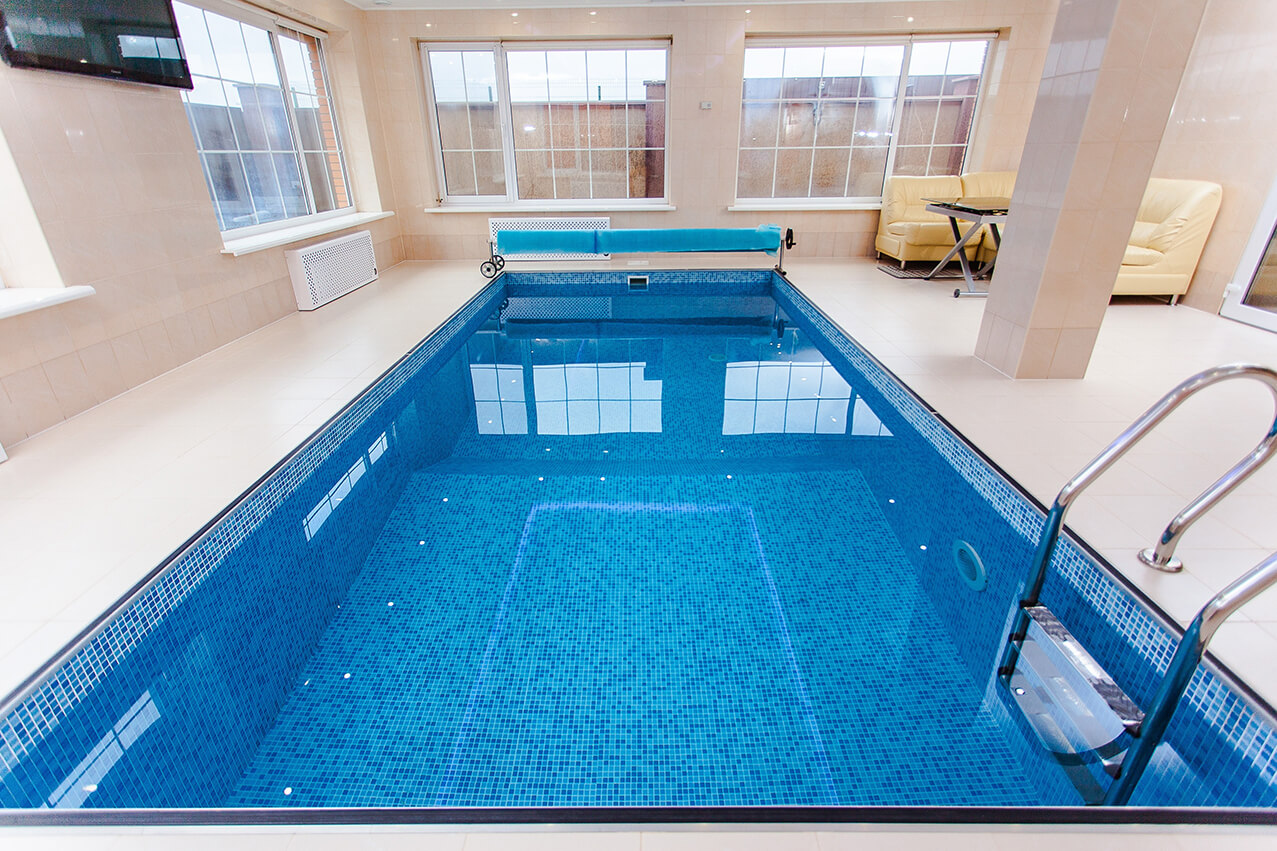 indoor swimming pool construction
